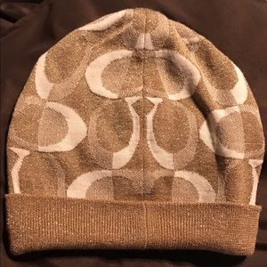 Coach Accessories - Coach Hat & Gloves